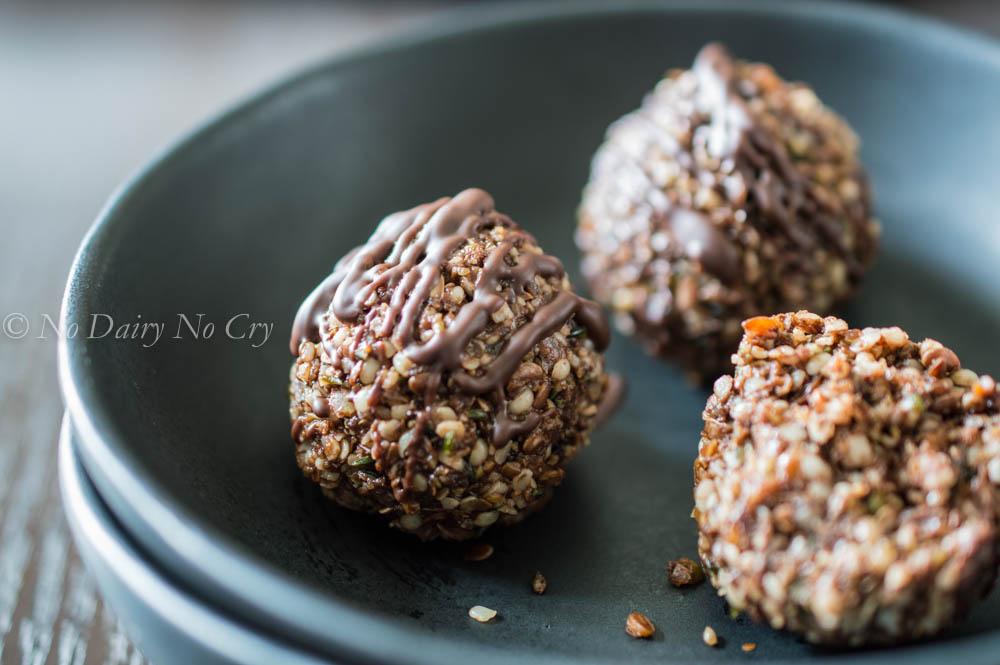 Cocoa Protein Balls