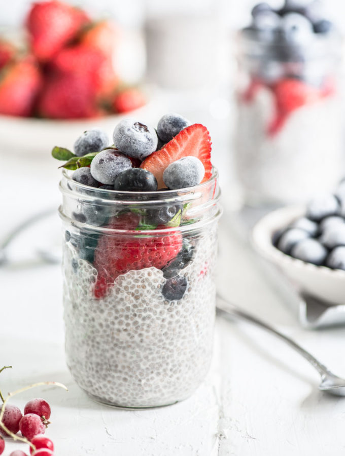 Quick Creamy Chia Seed Pudding