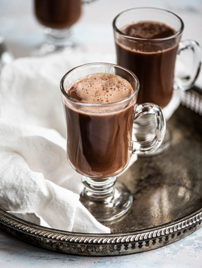 Perfect Hot Chocolate Allergy-Free + Sugar-Free