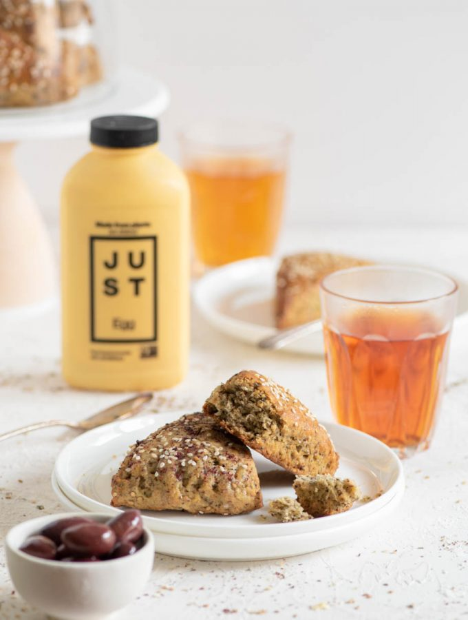 Healthy Zaatar Scones